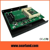 "CF & mSATA to SATA Adapter with 3.5"" Bracket"