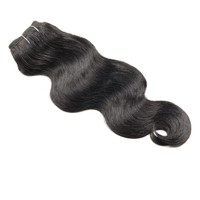 4pcs/lot 18 large stock cheap 7a malaysian/peruvian/brazilian body wave virgin unprocessed braiding hair