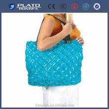 Promotional low price PVC bag shoulder Inflatable