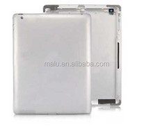 Original Rear Cover For Apple iPad 2 3G /Wifi Version Silver Aluminum Battery Back Cover Door Housing Repair Parts