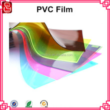 Color pvc flexible plastic film pvc calender extrusion film