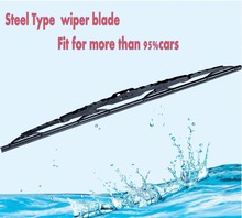 Car wiper blades universal,Universal double colored car windshield wiper blade