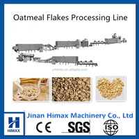 Oat flakes production machine