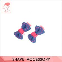 Fancy Double-Color Purfle Hair Barrettes Accessories For Hair, Girl Fancy Decorative Hairpin
