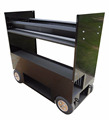 Kindleplate Mobile Tool Cart Box Chest by manufacture with 33 years in metal fabrication