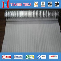 glass fiber coated aluminum foil