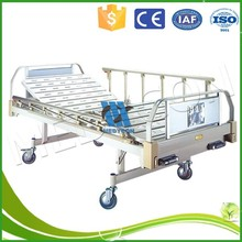 two crank stainless steel hospital over bed table hospital bed wheel