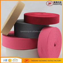 hot sell colorful plush fabric elastic band