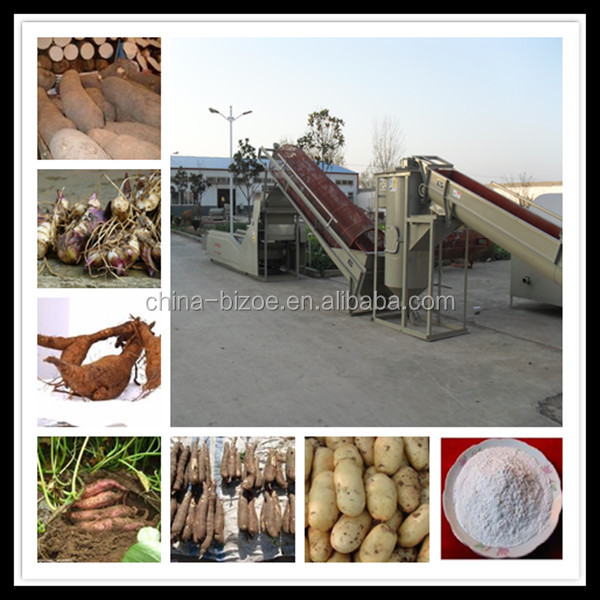 Has more than 20 year experience/high capacity /new process yam flour production line