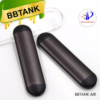 BBTANK patented design papery vape cartridges 2018 AIR vape pen