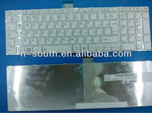White Colour Computer Keyboard L850 C850 For TOSHIBA for SATELLITE Laptop
