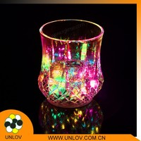 Hot Sale Colorful Magic Cup for Bar/Water Induction LED Flash Light Cup