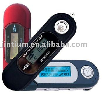 USB MP3 Player with LCD Screen