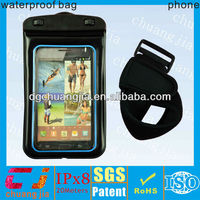 High quality waterproof wallet case for htc for swimming