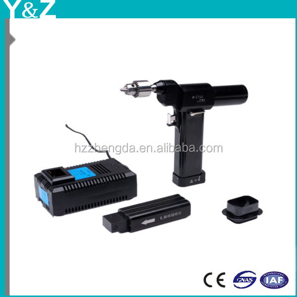 Orthopedic medical surgical electrical Bone hollow drill with li-ion battery for operation