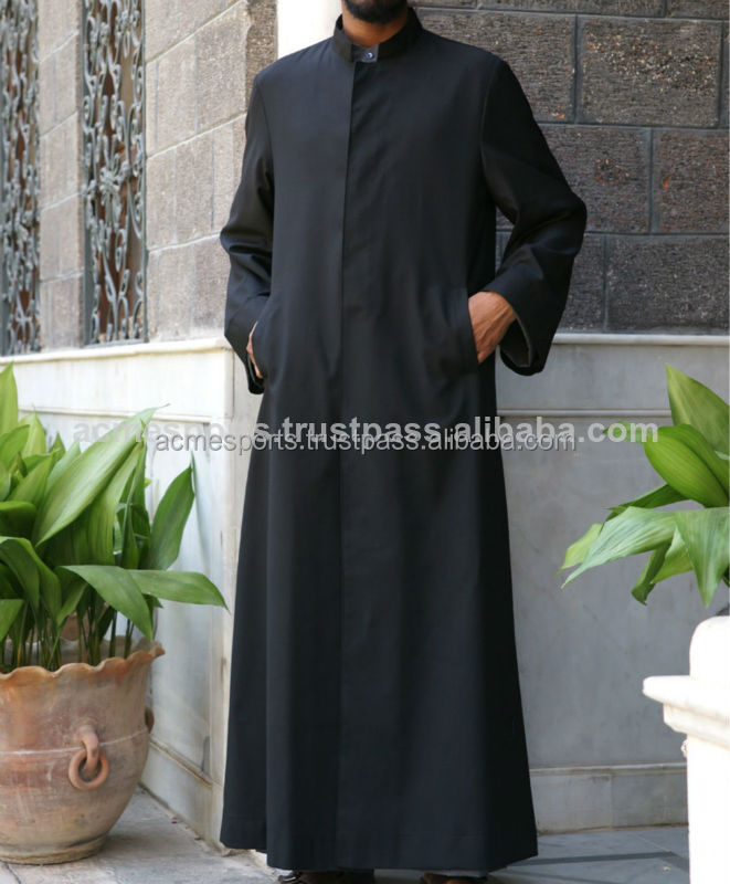 muslim prayer abaya - Muslim Men's thobe thoub thaub thawb - custom 100% cotton fashionable Mens thobe - mens abayas