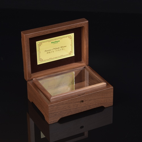Brand New Solid Wood Gift Music Box With High Quality