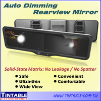 Taiwan Made Smart Auto Dimming EC Rearview Interior Mirror