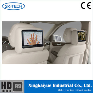 Good Quality TFT Color Car LCD Monitor with AV Input for Back Seat Entertainment