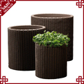 Wholesale Price Cheap Colored hand weave luxury flower pot