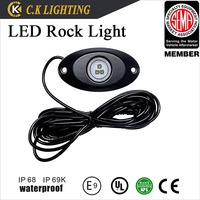 IP68 4 Pods LED Rock Light 4x4 SUV ATV led motorcycle kit with Remote Control