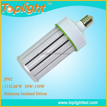 Large Power Low heat generation CE RoHs E39 E40 cool white LED corn lamp 150w replace 400w metal halide FCL