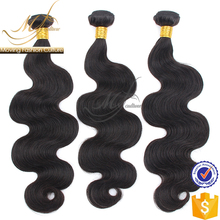 Wholesale high quality body wave Peruvian hair extensions