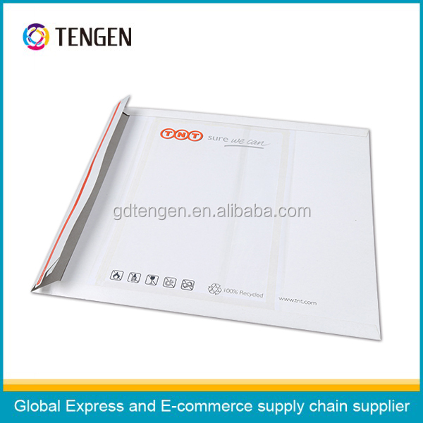 Hot sale paper envelopes with peel and seal closure