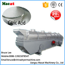 ZLG Vibrating Fluid Bed Dryer For Citric Acid