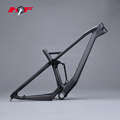 Chinese frame mtb full suspension 29er carbon frame UD finish or can be customed