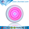 Growsmart 135W/45*3W Full Spectrum LED Grow Light UFO Red Blue Orange White UV IR for Hydroponics Systems Greenhouses