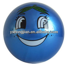 Sticker plastic Ball pvc beach ball children toys