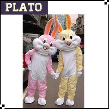 Easter bunny Cartoon Costume Mascot