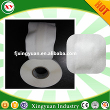 Raw material S cut side tape for baby adult diaper making