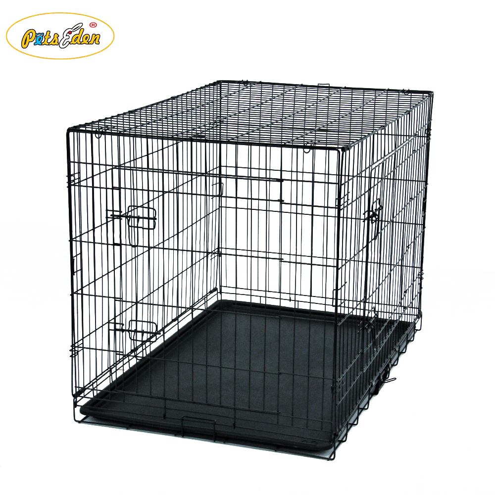 Folding Black Dog Kennels