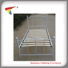 Cheap wood slat single bed base series