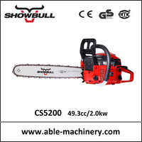 Hot sale tree pruning tools gaspline chainsaw5200 pretty good chinese machines