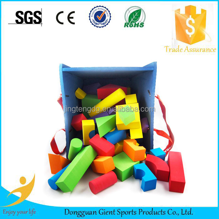 Create China Wholesale Quality Assurance Colourful Hot sale eva foam building blocks toy tractors for children