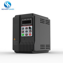 Soyanpower single phase input 220VAC 1.5kw hybrid solar DC and AC pump inverter with charge controller