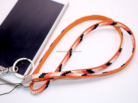 Wholesale Mobile phone rope phone chain Key Chain Rhinestone Leather Belt