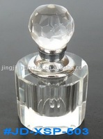 Clear Crystal Glass Perfume Bottle Crystal Fragrance Bottle