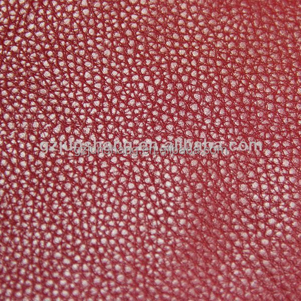 Soft PU leather handbag material also use for sofa cover
