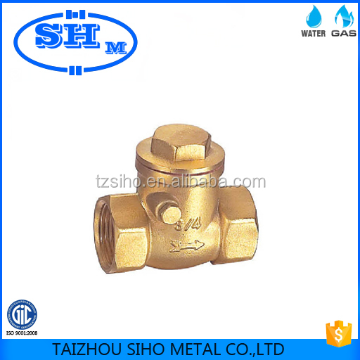 Forged CW617n brass chinese factory check valve