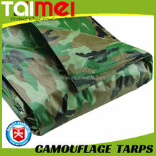90gsm~280gsm China Facotry Price PE Camouflage Army Tarps