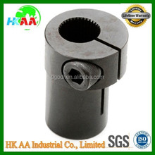 Stainless steel black oxide Pinch Coupler, quick pinch shaft coupler