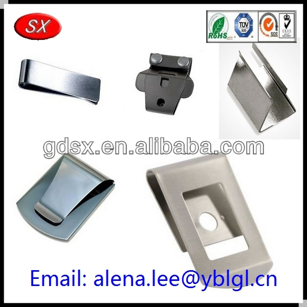 Dongguan factory small metal clip/sheet metal clips/metal clips fasteners