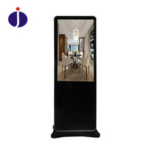 Newest slim design programmable floor standing interactive kiosk lcd digital signage media player