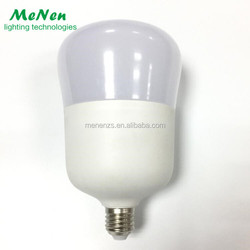 LED bulb lights 20W plastic coated aluminum bulb E27 220V