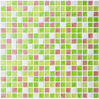 china floor glass mosaic tile design picture in foshan