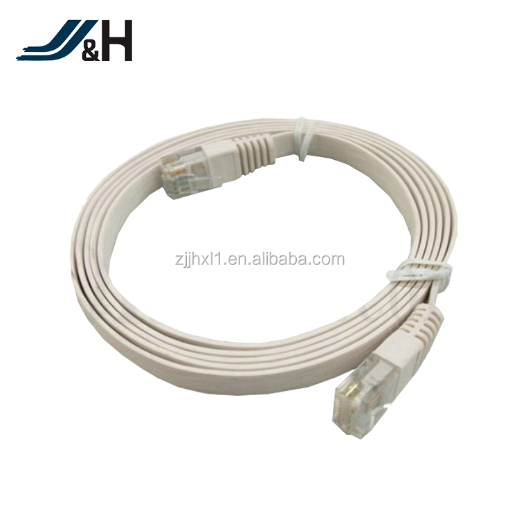 26AWG RJ45 FTP Cat5e Cat6 Flat Patch Cable